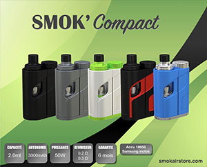 Pack SMok'Compact